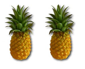 Ananas aus Kunstoff