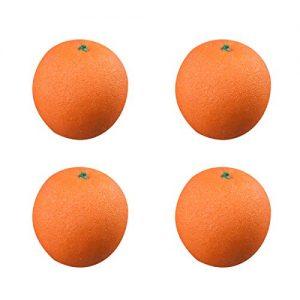 Mandarine aus Plastik