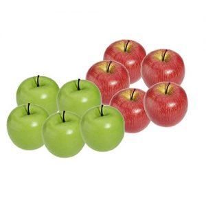 Äpfel aus Plastik