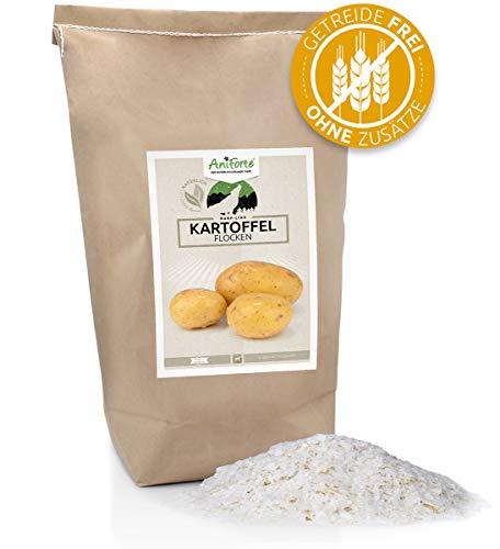 AniForte Barf Zusatz für Hunde Kartoffelflocken 5kg – Naturprodukt, Barf Einzelfutter, getreidefrei, glutenfrei, ohne künstliche Zusätze, 100% Natur zum barfen, Futter