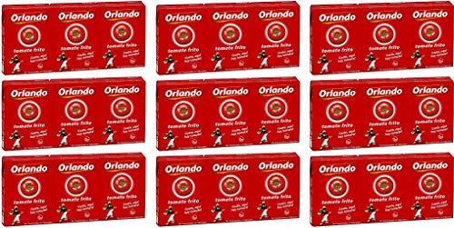 Orlando Tomate Frito Gebratene Tomaten 210 gr. - [Packung mit 27]