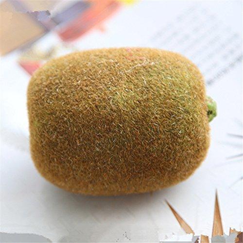 mynse 3Stück Schöne Simulation Fake Fruit Künstliche Früchte, plastik, Fake Kiwi, Einheitsgröße